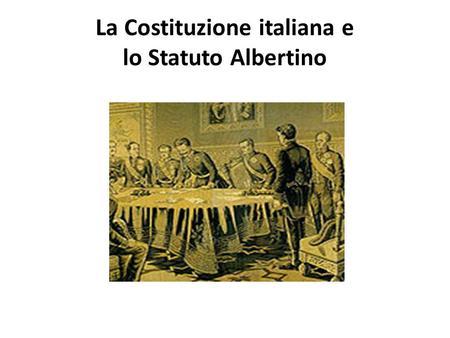 La Costituzione Della Repubblica Italiana Ppt Video