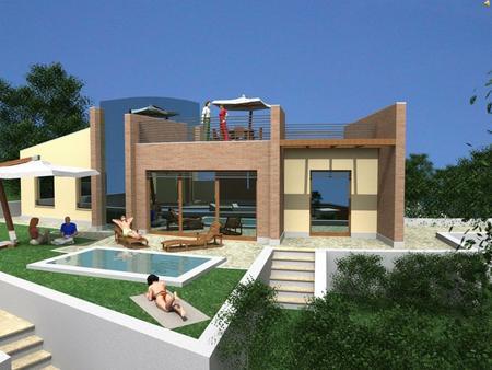 Le abitazioni romane insulae domus villae ppt video for Case progetto villa moderna