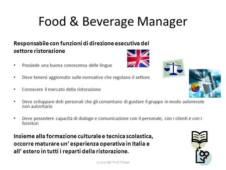 Food & Beverage Manager