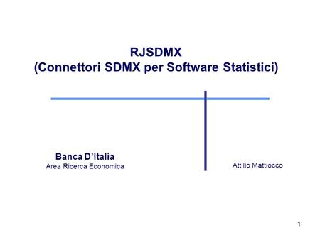 (Connettori SDMX per Software Statistici)