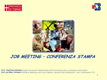 JOB MEETING – CONFERENZA STAMPA