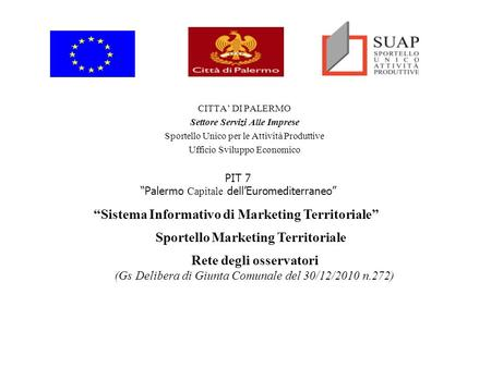 """Sistema Informativo di Marketing Territoriale"""