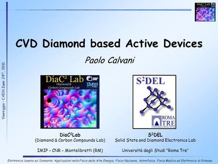 CVD Diamond based Active Devices