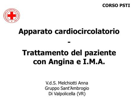 Apparato cardiocircolatorio -