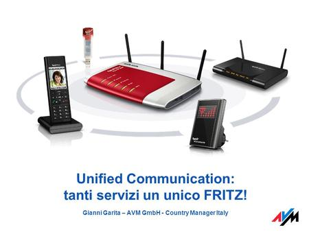 Unified Communication: tanti servizi un unico FRITZ