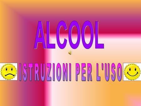 Il manifesto su prevenzione di alcolismo