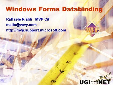 Windows Forms Databinding
