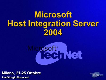 Microsoft Host Integration Server 2004