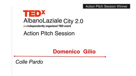 Action Pitch Session Winner. Ciuffo di pini su una verde foglia: morbida mano tesa. E fragile e tenace la memoria del Colle. by Domenico Gilio, Ass. Colle.