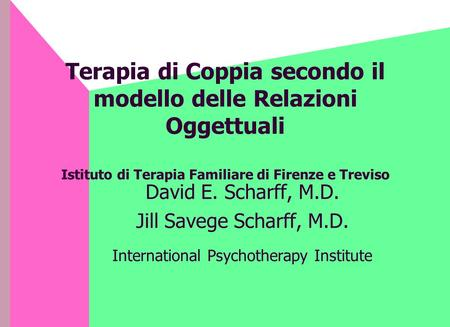 International Psychotherapy Institute