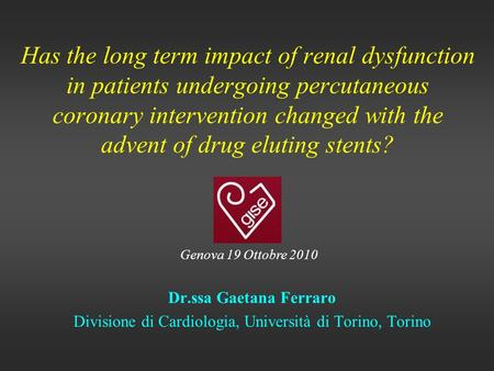Has the long term impact of renal dysfunction in patients undergoing percutaneous coronary intervention changed with the advent of drug eluting stents?