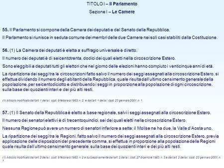 Parlamento parlamento ppt scaricare for Dove si riunisce il parlamento italiano
