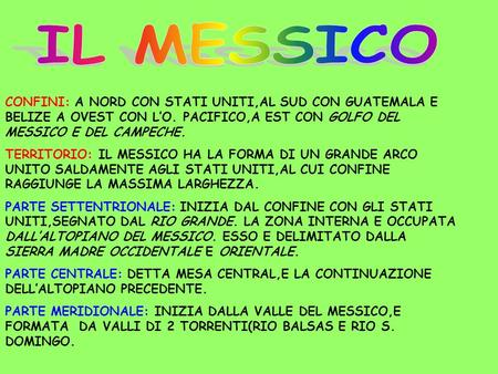 Messico messico ppt video online scaricare for Case del nord ovest pacifico