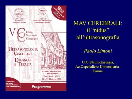 "il ""nidus"" all'ultrasonografia"