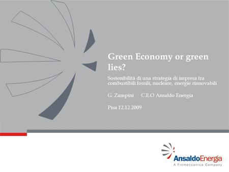 Green Economy or green lies?
