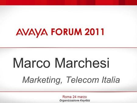 Marketing, Telecom Italia