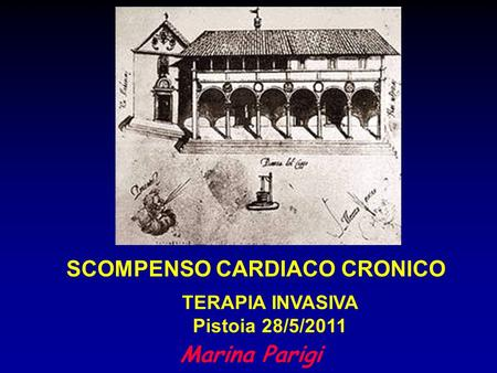 TERAPIA INVASIVA Pistoia 28/5/2011