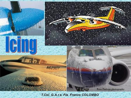 Icing T.Col. G.A.r.s. Fis. Franco COLOMBO.