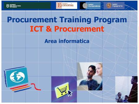 Procurement Training Program ICT & Procurement Area informatica.