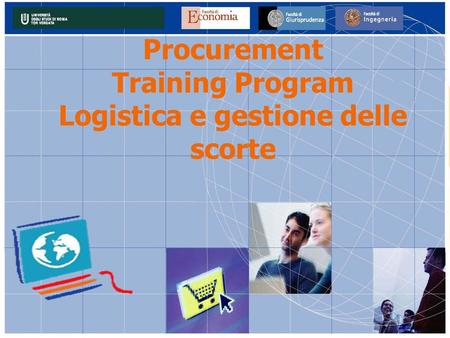 Procurement Training Program Logistica e gestione delle scorte.