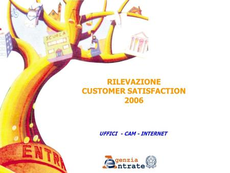 UFFICI - CAM - INTERNET RILEVAZIONE CUSTOMER SATISFACTION 2006.