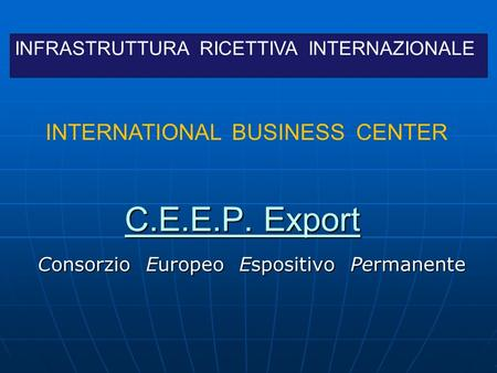 MAPPA STRATEGICA E BUSINESS PLAN
