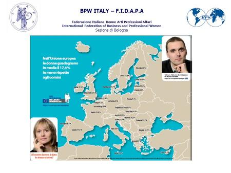 BPW ITALY – F.I.D.A.P.A Federazione Italiana Donne Arti Professioni Affari International Federation of Business and Professional Women Sezione di Bologna.