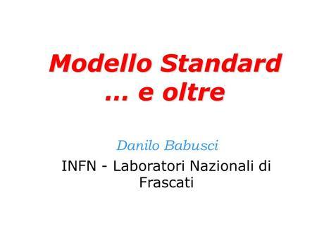 Modello standard cosmologico