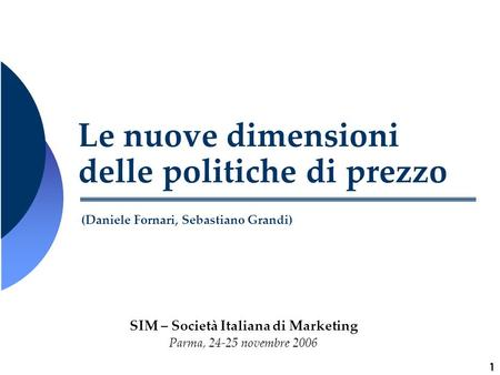 SIM – Società Italiana di Marketing