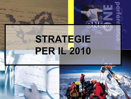 1 STRATEGIE PER IL 2010. 2 Diapositive dellintervento: www.paoloruggeri.it www.paoloruggeri.it.