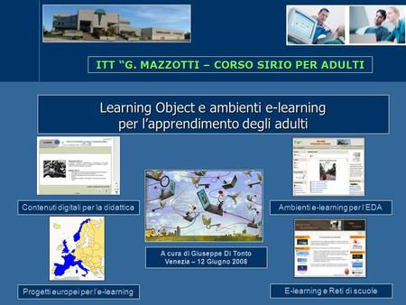 Learning Object e ambienti e-learning per l'apprendimento degli adulti