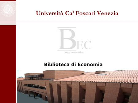 Università Ca' Foscari Venezia