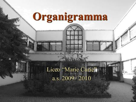 "Liceo ""Marie Curie"" a.s / 2010"