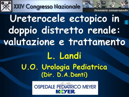 U.O. Urologia Pediatrica
