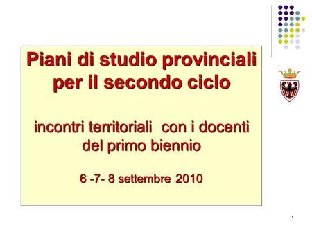 Dall europa dicembre 2006 raccomandazioni del consiglio for Piani di studio del garage
