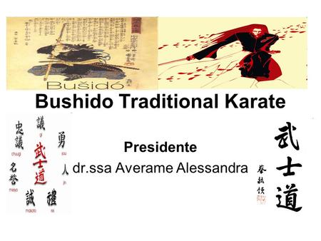 Bushido Traditional Karate