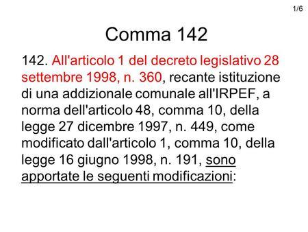 Decreto legislativo del 28 dicembre 2013 n 154