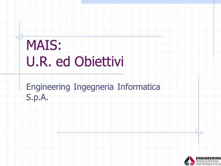 Engineering Ingegneria Informatica S.p.A.