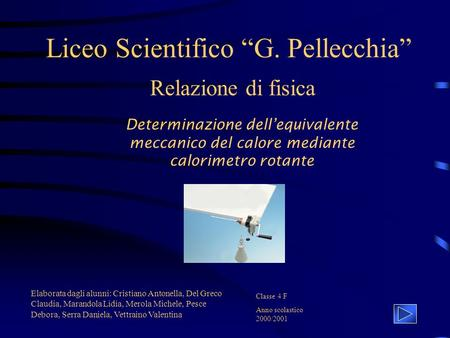 "Liceo Scientifico ""G. Pellecchia"""