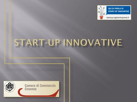 Start-up innovative.
