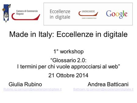 Made in Italy: Eccellenze in digitale