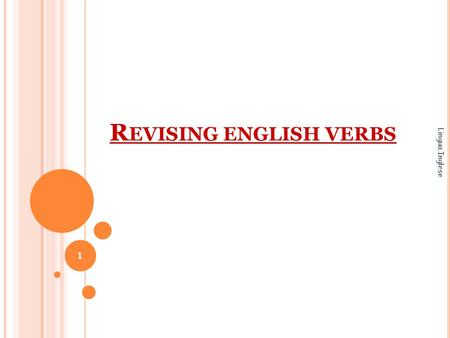 Revising english verbs