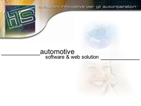___________ automotive software & web solution ___________.