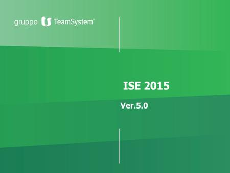ISE 2015 Ver.5.0.