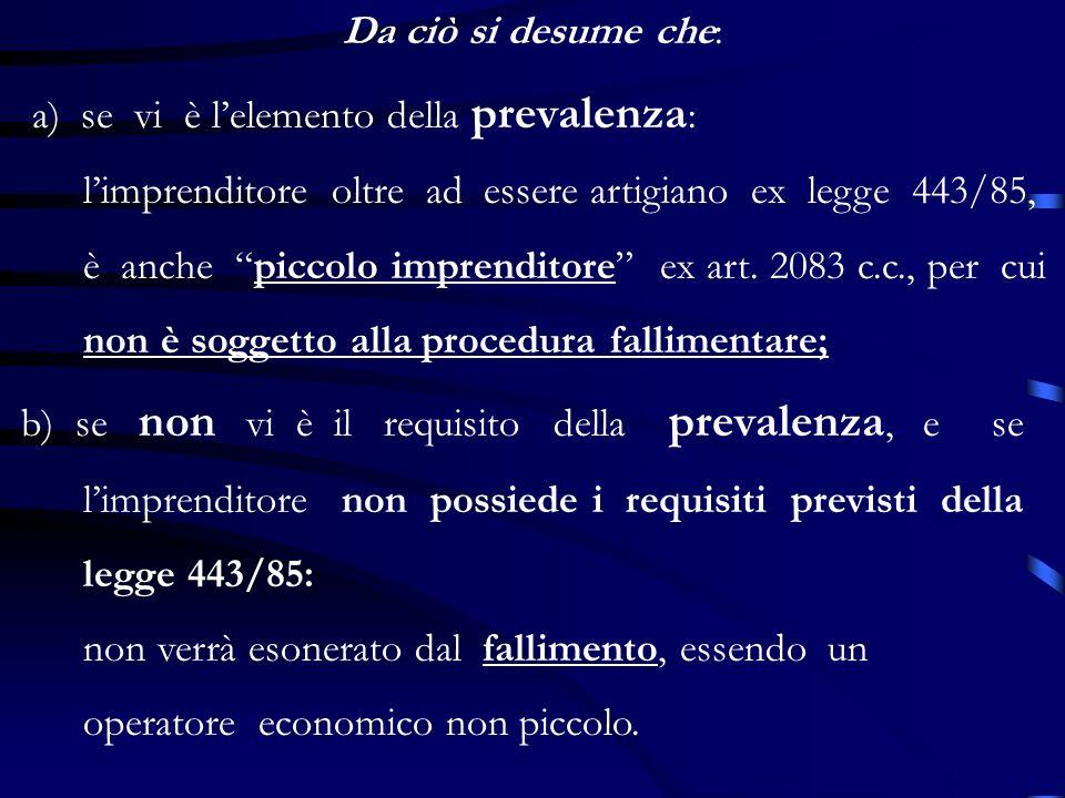 Legge 20 maggio 1997, n.133 Modifica lart.3 della legge 443/85: rende compatibili per limpresa artigiana ladozione di forme societarie precedentemente vietate: 1) società a responsabilità limitata con unico socio; 2) società in accomandita semplice.