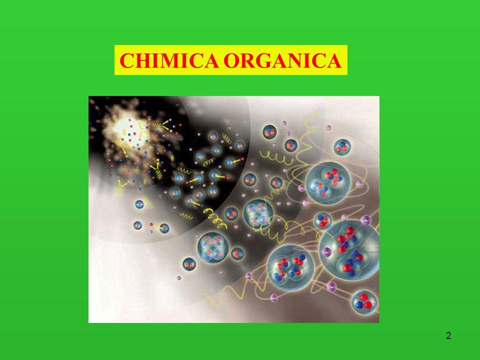 3 Chimica Organica La chimica organica è la chimica dei composti contenenti carbonio I carbonati, il biossido di carbonio e i cianuri metallici sono uneccezione in quanto vengono classificati come composti inorganici.