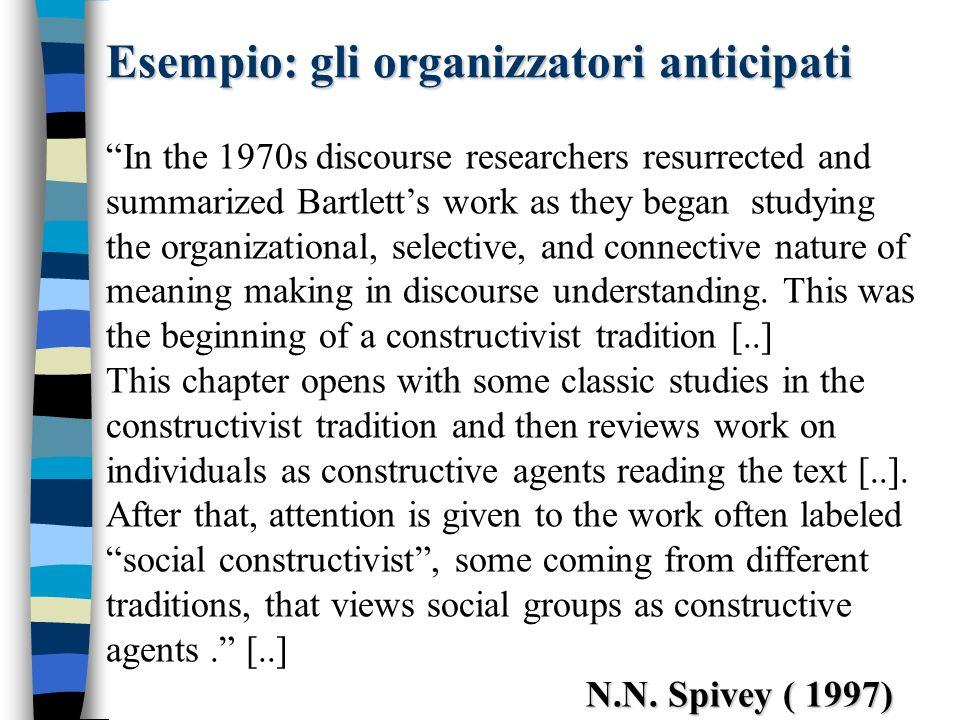 Le segnalazioni Questo concetto è invece introdotto da B.F Meyer negli anni 70.