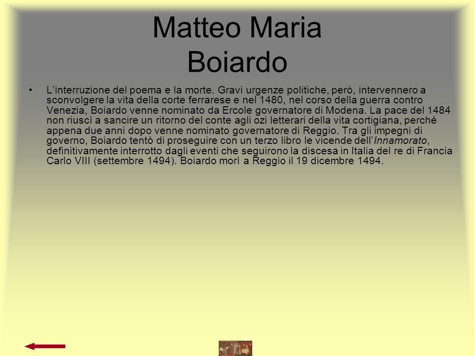 LOrlando Innamorato Di M.Boiardo 1.