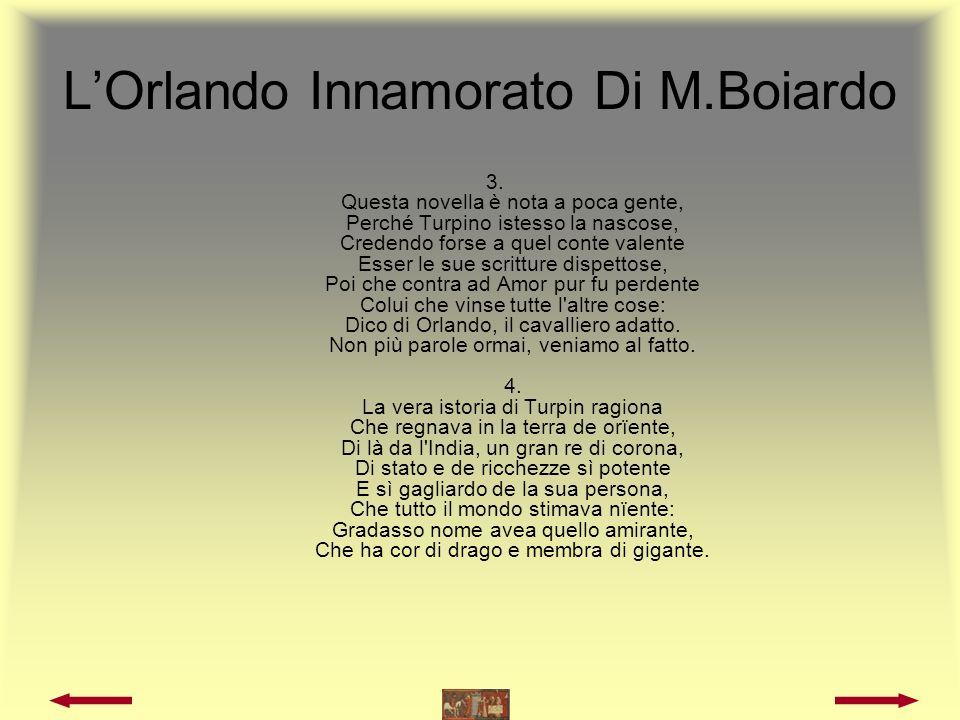 LOrlando Innamorato Di M.Boiardo 5.
