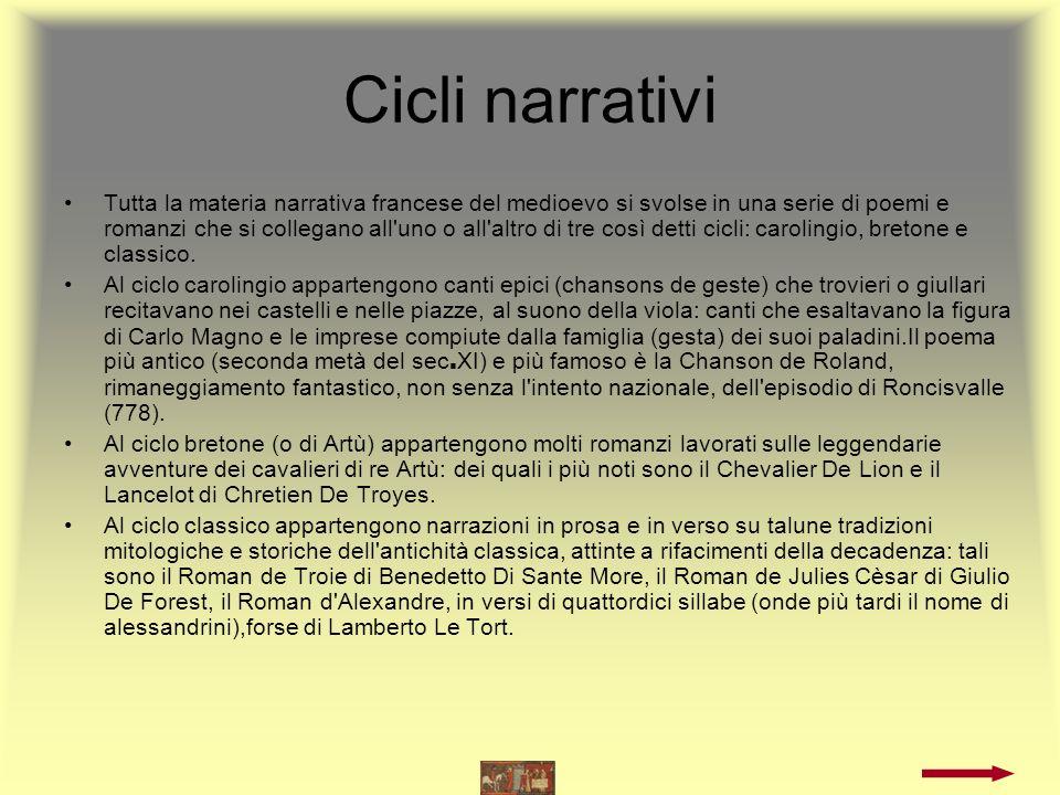 Lingua D oc La letteratura in lingua d oc è composta prevalentemente di opere in poesia.